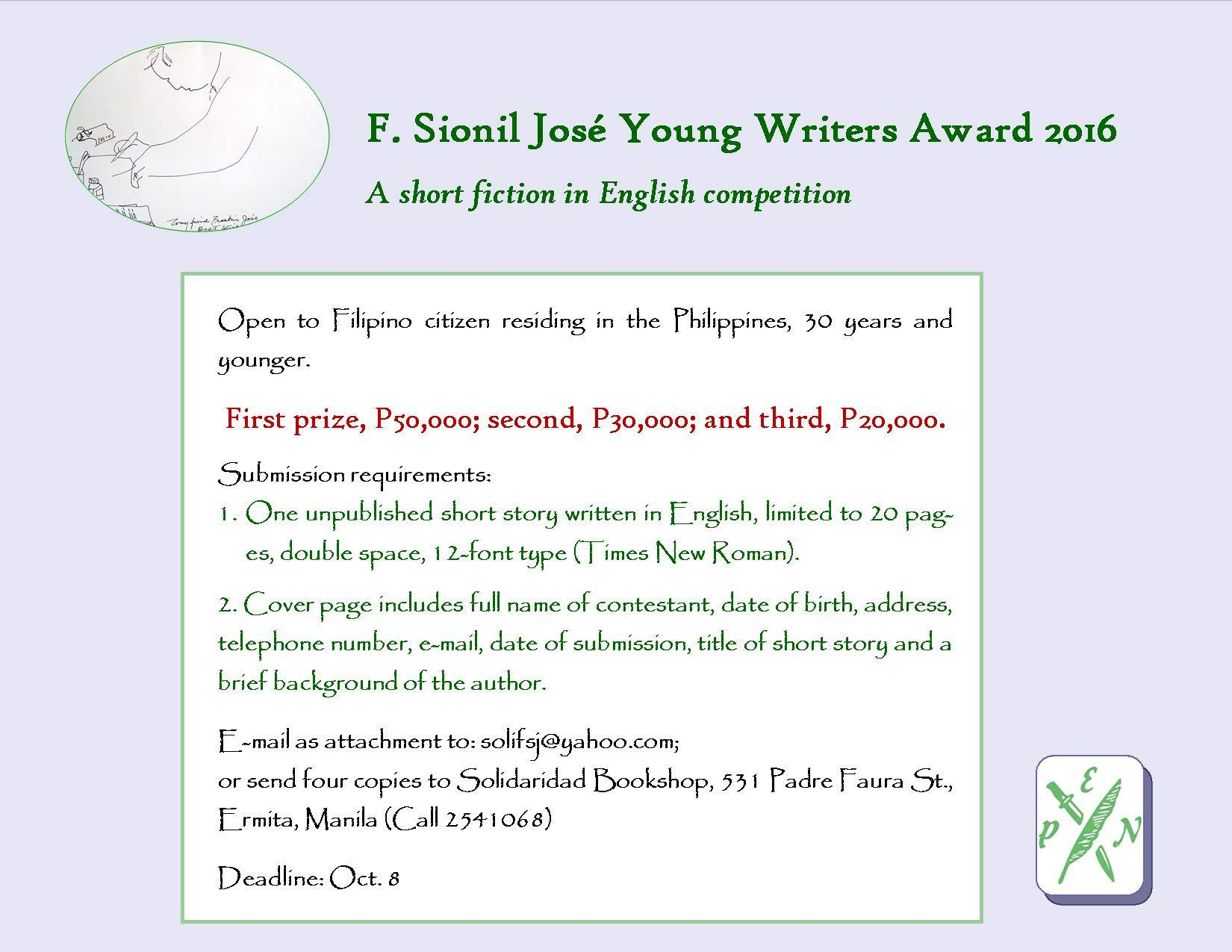 essays written by filipino writers Filipino essays: over 180,000 all essays are written from scratch by professional writers according to your instructions and delivered to your email on time.